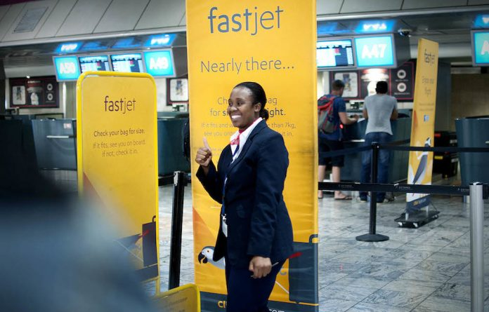 Competitive edge: Fastjet avoids complex offerings that drive up flight costs.
