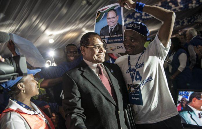 The Democratic Alliance's Gauteng leader