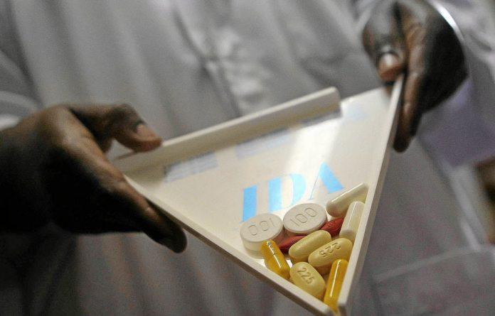 Antiretroviral drugs.