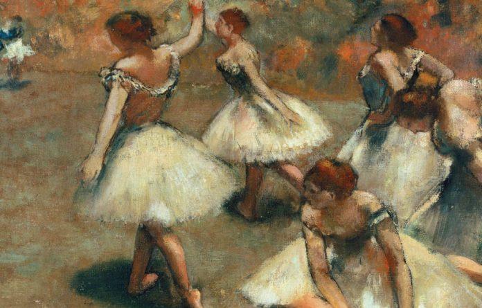 Edgar Degas's beautiful Danseuses sur la scène