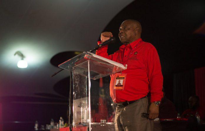 Blade Nzimande reminded his former boss