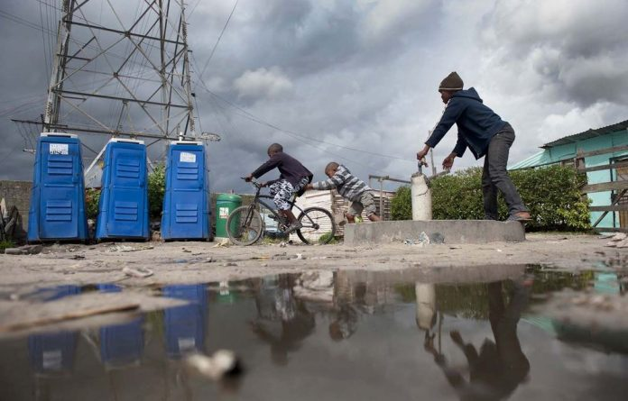 Many toilets in Cape Town's informal ­settlements are in a poor state. City ­officials claim they have been ­vandalised in some areas.