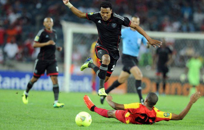 Tlou Segolela in action against Esperance.