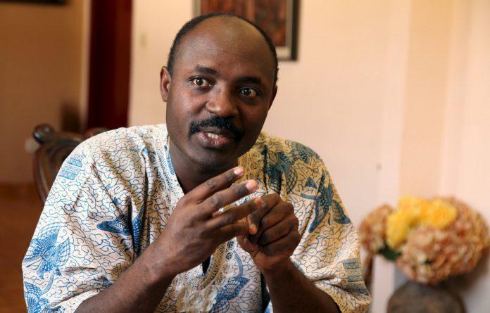 Angolan journalist and opposition figure Rafael Marques de Morais