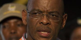 Free State premier Ace Magashule at the ANC's Mangaung conference