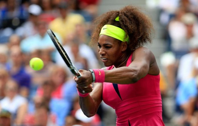 Williams was at her ruthless best as she demolished Italian Sara Errani 6-1 6-2 to continue her golden summer to the US Open.