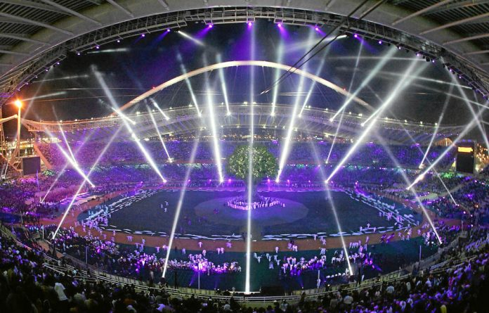 Games organisers are drawing up plans to deal with the impact of heavy rain on competitors and spectators.