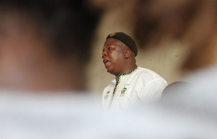 Julius Malema has called Ronald Lamola a 'traitor'.