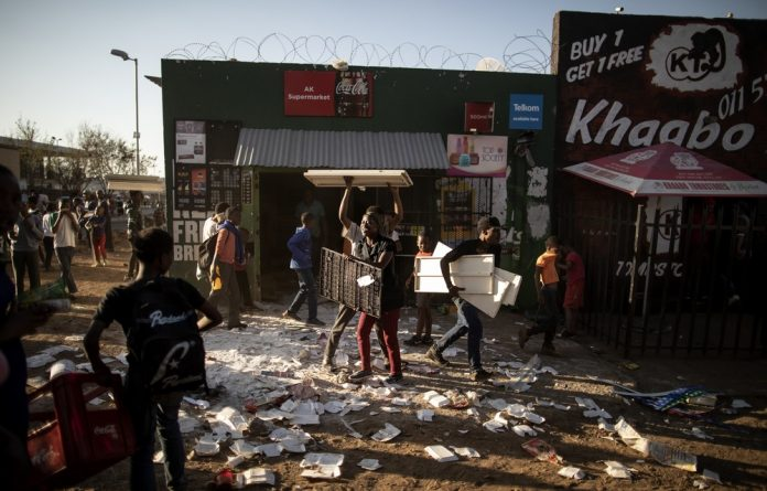 The Food and Allied Workers Union has condemned the attacks on foreigners and says local citizens should not take the law into their own hands.