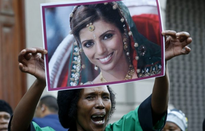 The family of Anni Dewani expressed disappointment at a court ruling to dismiss charges of murder against Shrien Dewani.