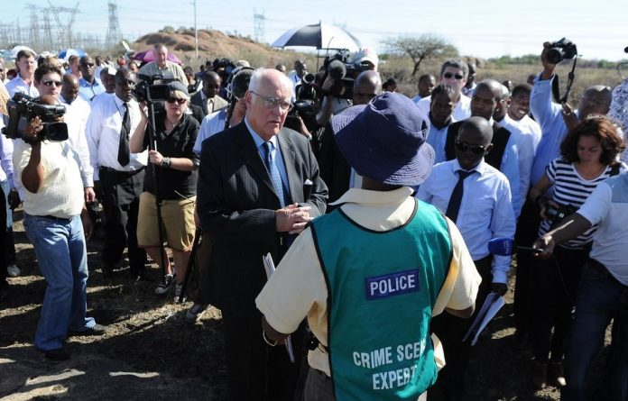 The Marikana commission and the parties involved in the inquiry has begun the inspection of the places where the killings happened.