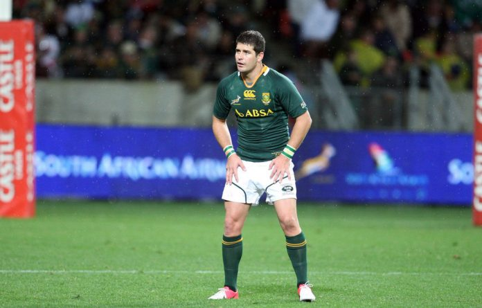Morne Steyn during the third Castle Lager Incoming Tour Test match between South Africa and England at Nelson Mandela Bay Stadium on June 23