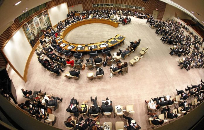 Five nations in the Security Council dictate world affairs.