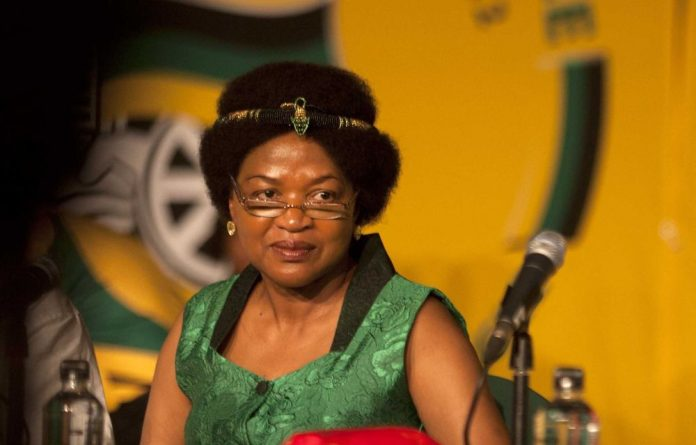 Baleka Mbete was granted R28-million in ANC-approved Gold Fields shares.