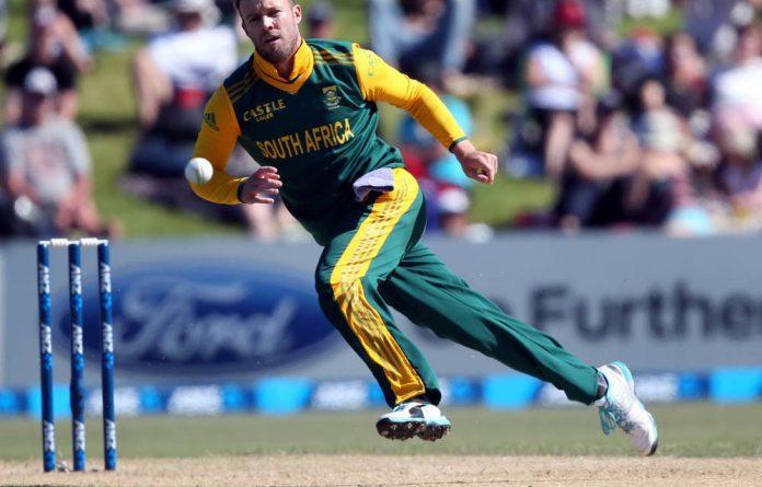 South Africa's AB de Villiers fielding. In general