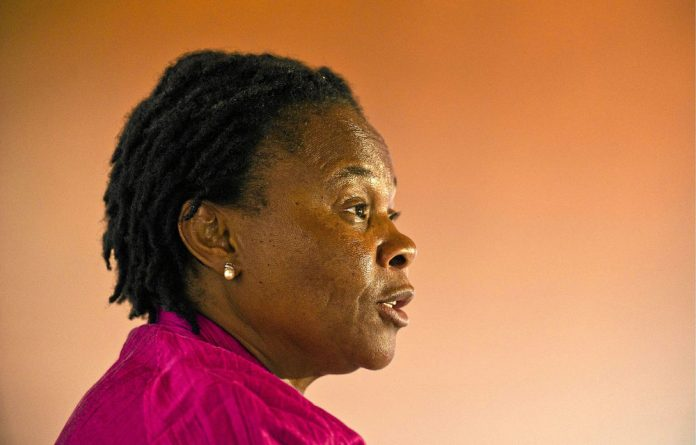 Leading the way: Mineral Affairs Minister Susan Shabangu