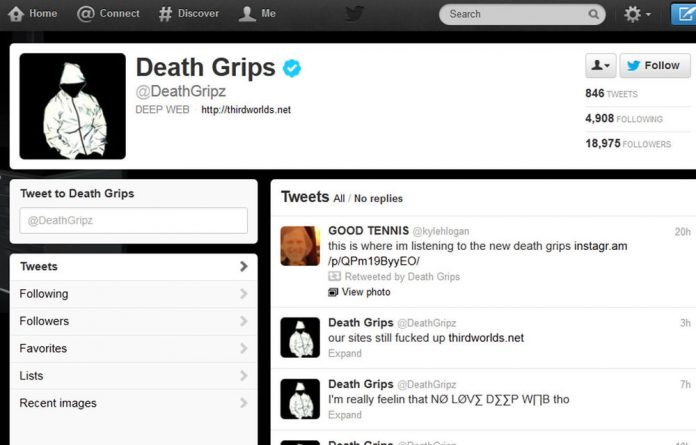 The Twitter feed for the American rap group