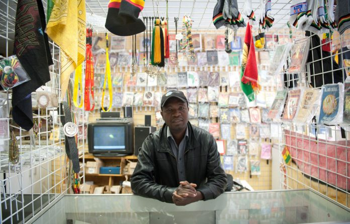 Stone Madondo: Selling goods with a Caribbean flavour in Seal of Ujamaa