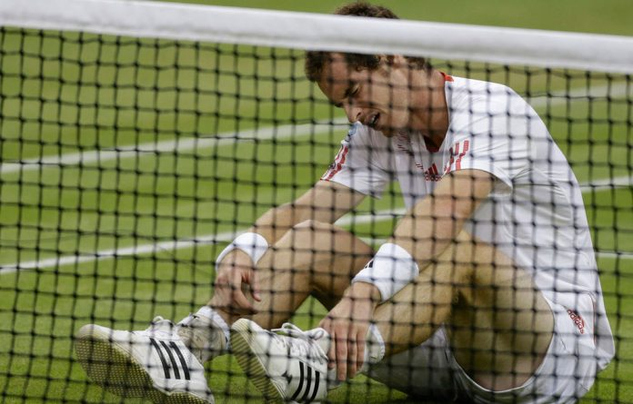 The loss to Roger Federer at the Wimbledon final was a devastating blow to Andy Murray.