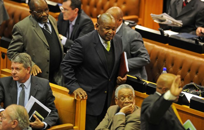 Cope leader Mosiuoa Lekota was kicked out of Parliament for refusing to take back comments he made about the president.