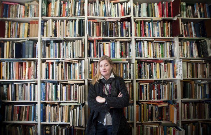Shelf life: Former manager of Boekehuis Corina van der Spoel in Bookdealers of Melville