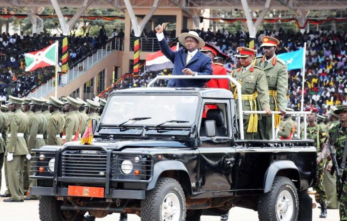 Uganda celebrates 50 years of independence.
