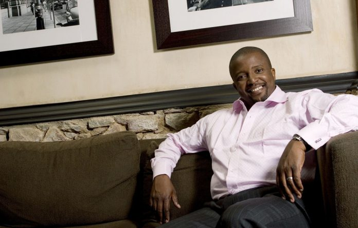 TV presenter Vuyo Mbuli collapsed while watching a match between the Cheetahs and the Reds on Saturday night.
