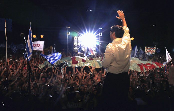 Alexis Tsipras had to step down as prime minister because he agreed to the new bailout package. He will contest the elections next month and could win.