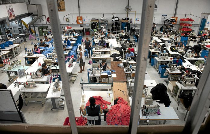 The loss-making K-Way factory in Ottery near Cape Town was turned around thanks to government incentives.