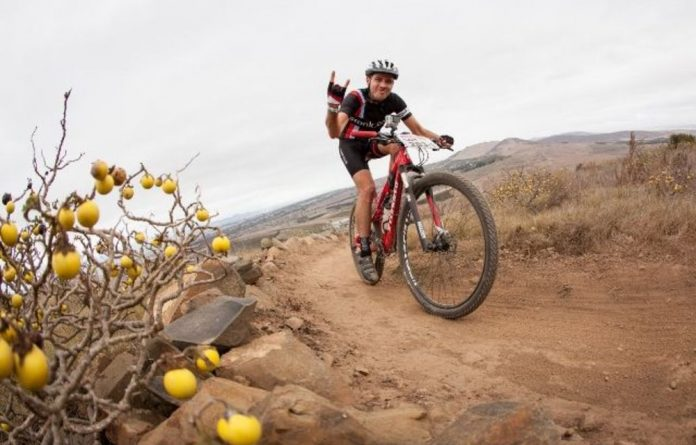 AmaBhungane reporter Craig McKune will on Monday begin with the first stage of the Absa Cape Epic.