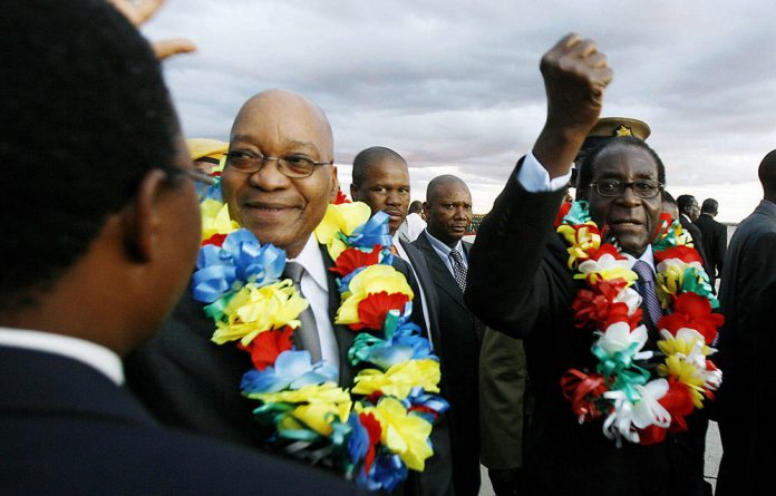 As President Jacob Zuma prepares to head to Zimbabwe fsenior allies are trying to undermine Zuma's role.