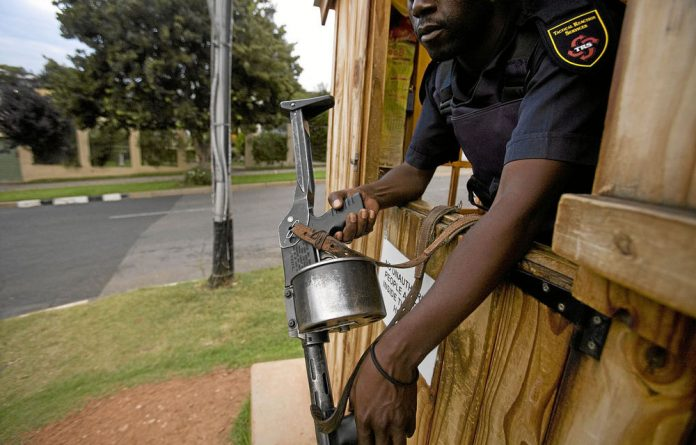 The Private Security Industry Regulation Amendment Bill proposes that South African citizens must own at least 51% of all private security firms operating in the country.