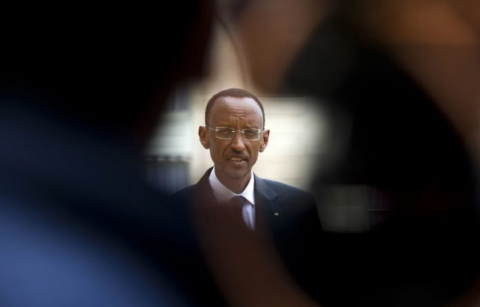 Rwanda President Paul Kagame was accused of supporting rebels with arms and ammunition