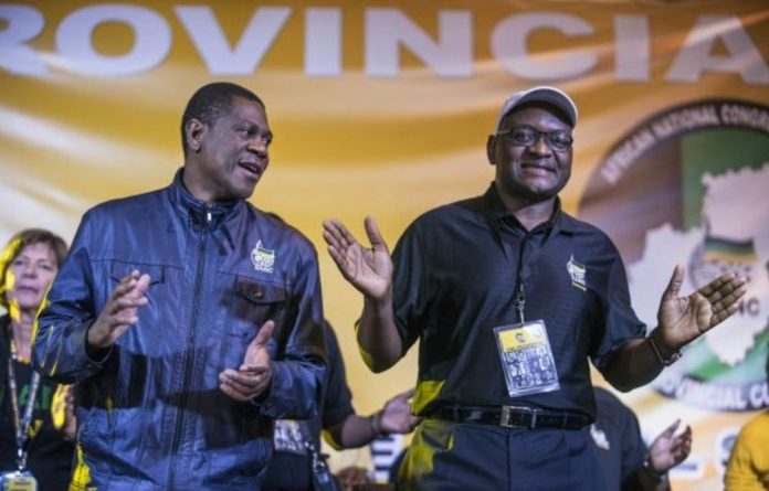 Paul Mashatile and David Makhura