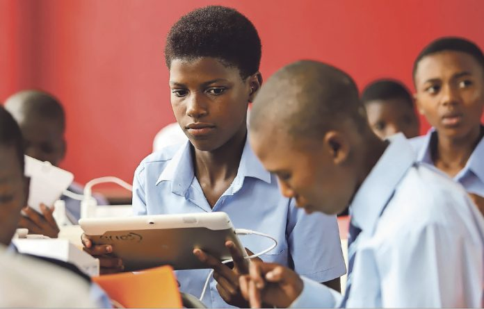 The Gauteng department of education has committed to ensuring learners are not only exposed to technology or experience utilisation of tablets and computers for the first time at university.