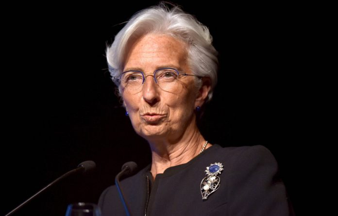 Christine Lagarde has urged vigilance as she addressed the meetings in Bali
