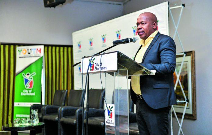 Small Business Minister Lindiwe Zulu and City of Ekurhuleni Executive Mayor Mzwandile Masina