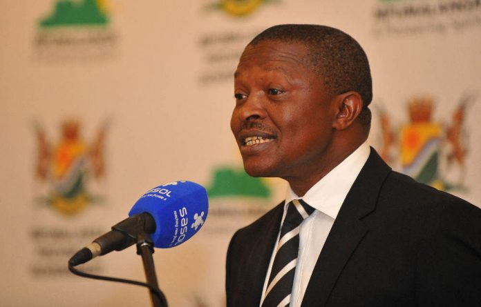 Mabuza expressed confidence that small and medium enterprises would help boost the South African economy's lacklustre performance.