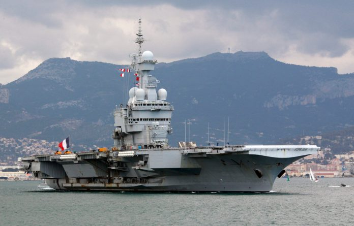 The aircraft carrier Charles de Gaulle has been dispatched to the eastern Mediterranean