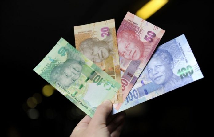 The rand was steady on Tuesday morning