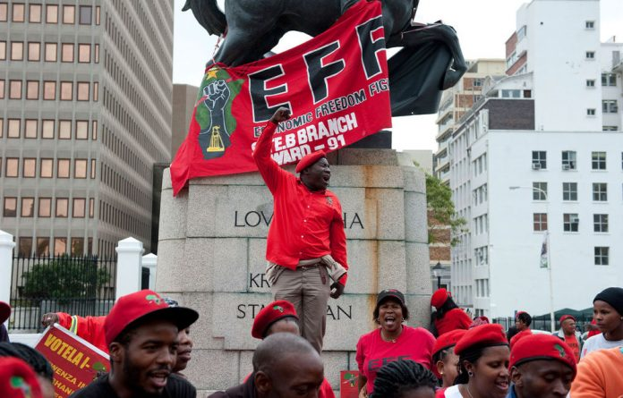 The EFF's dress code of overalls and maid servants attire is a symbol of that radicalism that challenges our failed reconciliation and non-racial politics.