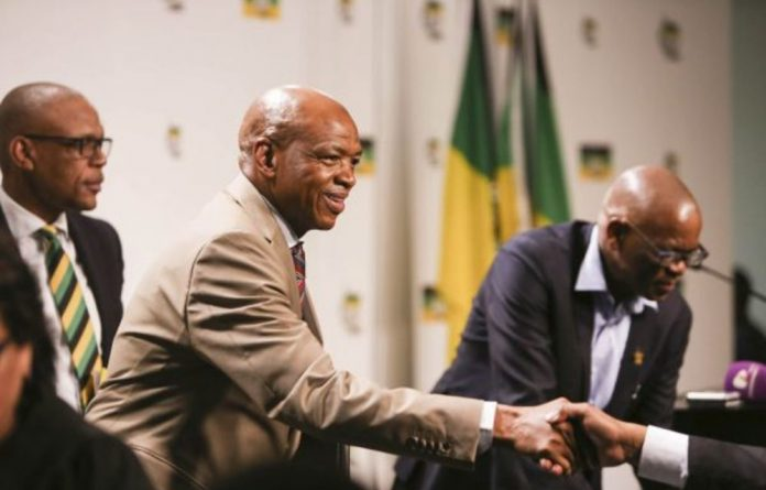 Not up to scratch: Luthuli House has rejected three candidates for the post of North West premier following the resignation of Supra Mahumapelo