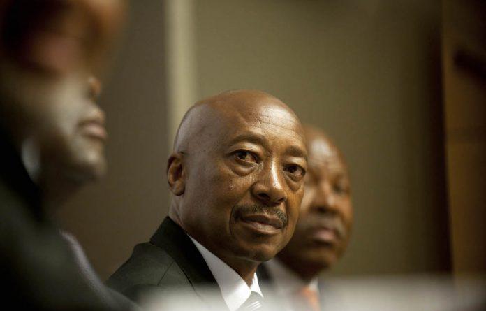 Suspended Sars boss Tom Moyane.