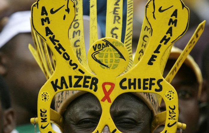 Kaizer Chiefs command passionate support.