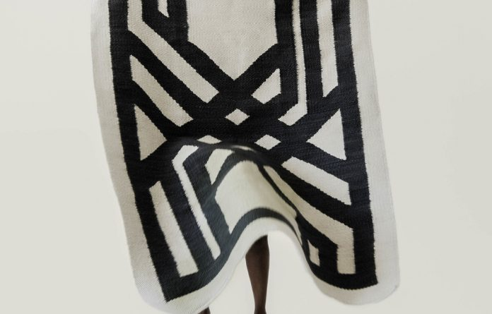 Bespoke beauty: One of Nkuli Mlangeni's creations was named Design Indaba's Most Beautiful Object.