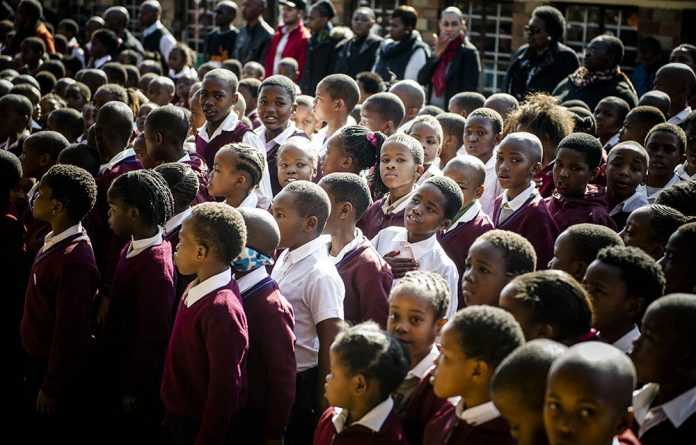 The education department wants to help orphans and vulnerable children in particular.