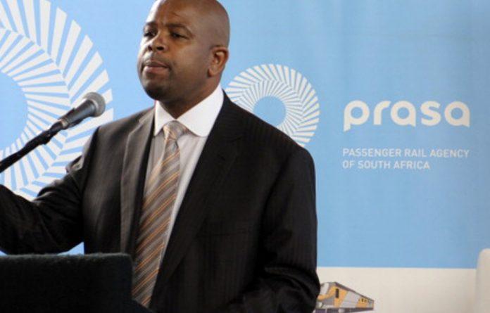 Former Passenger Rail Agency of SA CEO Lucky Montana