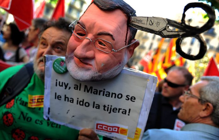 Increased unemployment benefit payments are already putting pressure on Spain's Rajoy's budget.