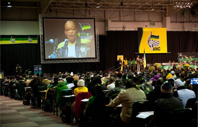 The president had a strong start at the ANC's policy conference