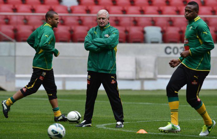 Bafana Bafana coach Gordon Igesund.